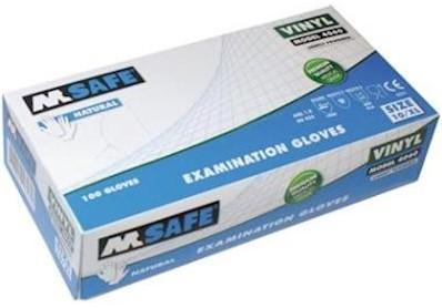 M-Safe 4060 disposable vinyl handschoen - 10/xl