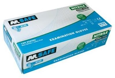 M-Safe 4520 disposable nitril handschoen - 9/l