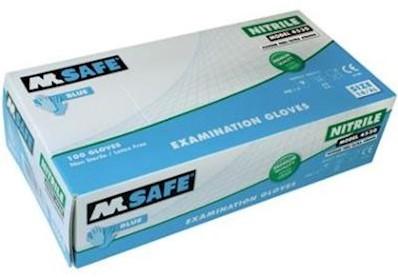 M-Safe 4530 disposable nitril handschoen - 9/l