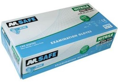 M-Safe 4530 disposable nitril handschoen - 10/xl