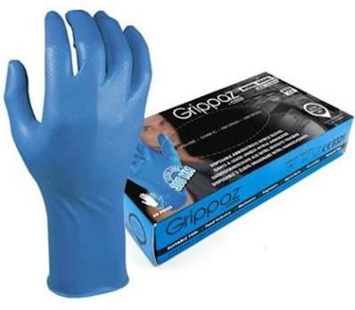 M-Safe 306BL Nitril Grippaz handschoen - m