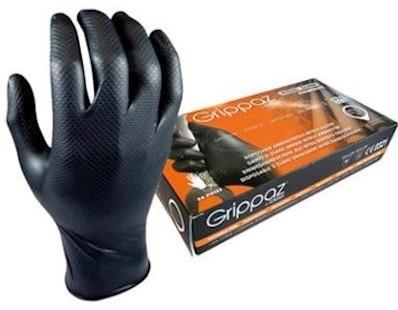 M-Safe 246BK Nitril Grippaz handschoen - l