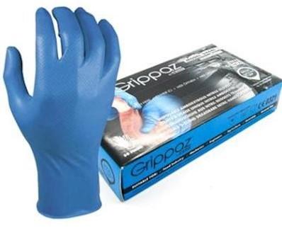 M-Safe 246BL Nitril Grippaz handschoen - l