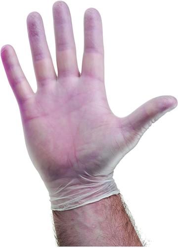 Vinyl handschoenen Naturel Poedervrij - 8/m