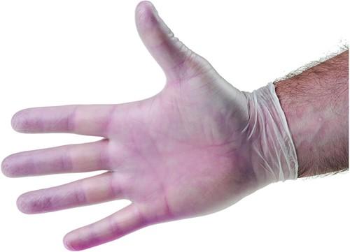 Vinyl handschoenen Naturel Poedervrij